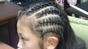ダンスキッズの髪型はコーンロウで決まり動画で編み方をご紹介