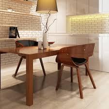 Us 26944 25 Offikayaa Set Von 2 Stühle Holz Braun Stühle Für Esszimmer Es Lager In Esszimmerstühle Aus Möbel Bei Aliexpress