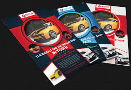 Car For Sale Flyer Mesmerizing Car Dealer Auto Services Business Flyer On Behance