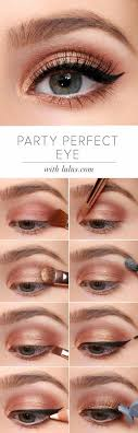 pretty peach makeup tutorials to create with your peach palettes gold eye