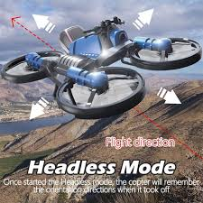 <b>2.4G</b> Folding 2in1 RC <b>Drone Deformation Motorcycle</b> With 650ma ...