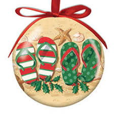 Image result for holiday flip flops