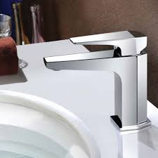 Water Tap Design Sanlingo Voza Series Design Bath Bathroom Washbasin Washstand Single Lever Water Tap Chrome