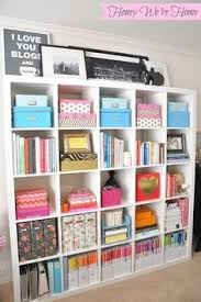 craft room storage inexpensive storage decor updates for your bookshelf honey were home office organisationoffice ideasstationary storage ideas office r53 storage