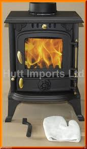 cast iron wood burning multi fuel stove fire 4 5 kw new hi013s ja013s