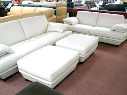 off white leather couch sectional modern recliner sofa set