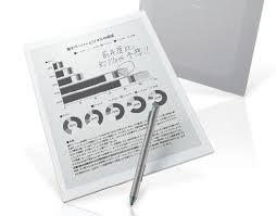 sony digital paper. sony dpt-rp1 (digital paper system) - new 13.3-inch e ink tablet for $ 700 digital