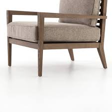 wood frame accent chairs. LAUREN WOOD FRAME ACCENT CHAIR HONEY WHEAT Wood Frame Accent Chairs E