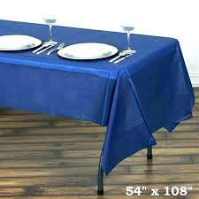 fancy plastic table covers with elastic amusing