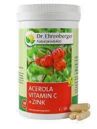Acerola Vitamin C Zink 180 Kapseln Dr Ehrenberger