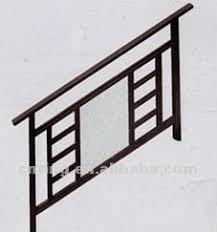 Barandilla De Aluminio  Con Paneles De Vidrio  De Exterior Barandillas De Aluminio Para Exterior