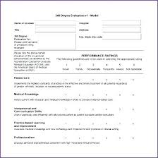 Restaurant Manager Review Forms Elegant Manager Evaluation Template And Evaluation Template For