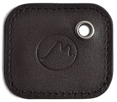 metier life tile mate case by metier life gen 2 tile phone and item finder vegan leather key fob cover elegant protection with included keyring tan