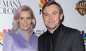 Ricky Schroder and his wife Andrea ...