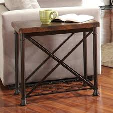 chair side table with drawers riverside chalet chair side table hammered copper finish made with an