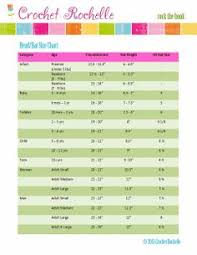 33 Best Size Chart Images On Pinterest | Measurement Chart, Notebook ...
