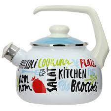 Чайник Брокколи, <b>2.5л</b>, <b>эмалированный</b> 000000000001160872 ...