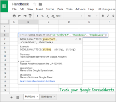 Spreadsheet Tracking How To Track Google Spreadsheet Views With Google Analytics