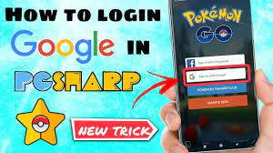 How to login with Google in Pgsharp | Spoof easily in Google account Pokemon  Go - YouTube