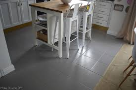 paint for tile floorspainted tile floorsix months later  Make Do and DIY