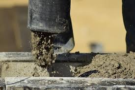 leave dirt before pouring concrete