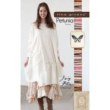 Tina Givens Patterns Mesmerizing TINA GIVENS PETUNIA TUNIC Sewing Pattern EBay