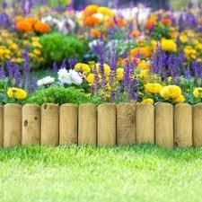 garden edging fence. £2.99. WOODEN BORDER FENCE Garden Edging Fence