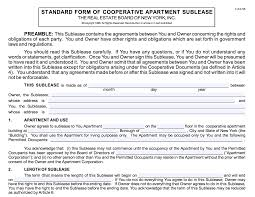 Lease Violations Subletting And Possible Cooperative Rule Violations New