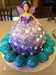 Fairytale Barbie Doll Cake In 2019 Cakes Barbie Cake Barbie