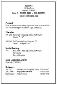 Example Of Simple Resume Format. Example Basic Resume | Resume ...