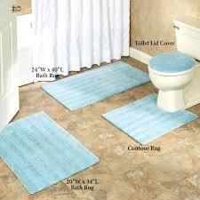 burnt orange bathroom rug set rugs cream mats brown striped bath mat sets