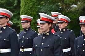 royal marines section