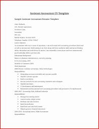 Sample Resume For Assistant Accountant Resume Online Builder