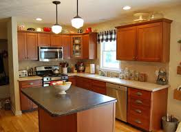 kitchen color ideas with cherry cabinets. Kitchen Cabinet Makeover: Before And After Color Ideas With Cherry Cabinets