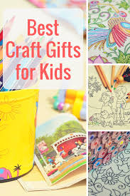 The Best Fun Loving Craft Gifts For Kids Who Love To Color Craft