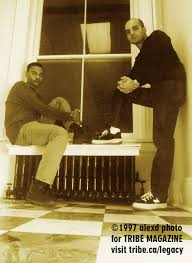 Tyrone Solomon and Peter Primiani, 83 West Records Toronto 1997
