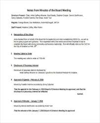 sample of minutes taken at a meeting free 7 meeting note examples samples in pdf examples
