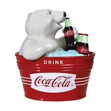 Coca Cola Polar Bear In Bottle Vending Machine Delectable From The CocaCola Collection It's The CocaCola Polar Bear Cookie