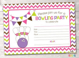 free 13th birthday invitations free printable bowling party invitations for kids lindamedia info