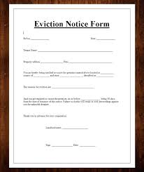Free Printable Eviction Notice Template Cool Landlord Notice To Vacate Form Free Stormcraftco