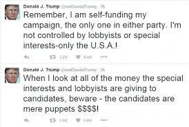 Image result for trump political outsider