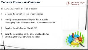 5 Key Deliverables Of The Dmaic Process Measure Phase