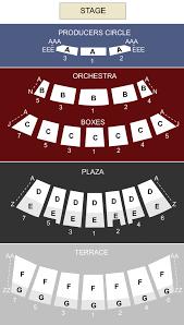 Starlight Theater Kansas City Mo Seating Chart Stage