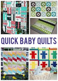 10 easy baby quilt patterns that stitch up quickly