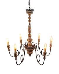 candle pendant lighting. antique style wooden pendant light with 6 candle shape lights lighting s
