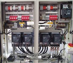 automatic transfer switch between two low voltage utility supplies