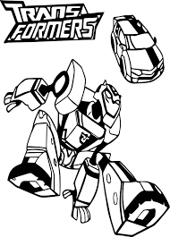 Hasbro Transformer Coloring Pages
