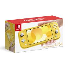 Máy chơi game Nintendo Switch Lite Yellow, Giá tháng 11/2020