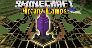 Arcane Lamps Mod 1122 Luminescent Crystals 9minecraftnet