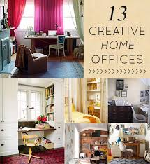 space home office home design home. 13 Creative + Clever Home Offices Space Office Design
